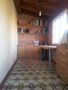 Habitación obra madera