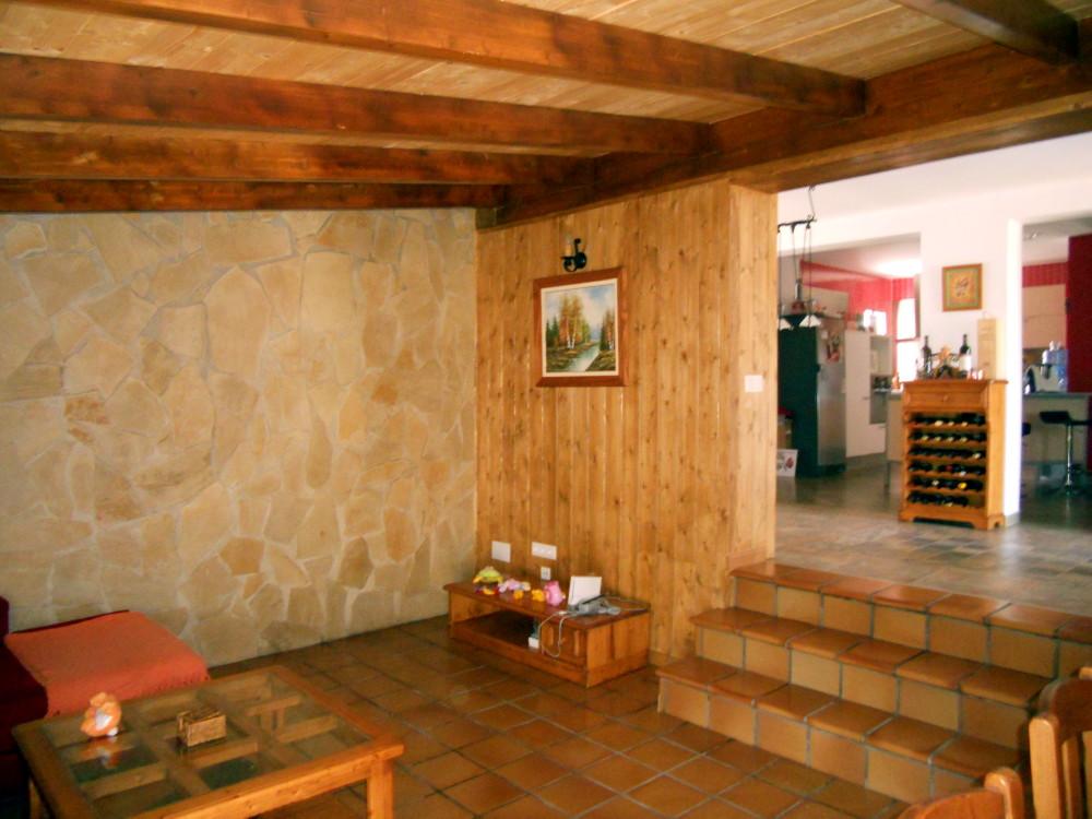Reforma candel madera y obra - Casas de madera por dentro ...