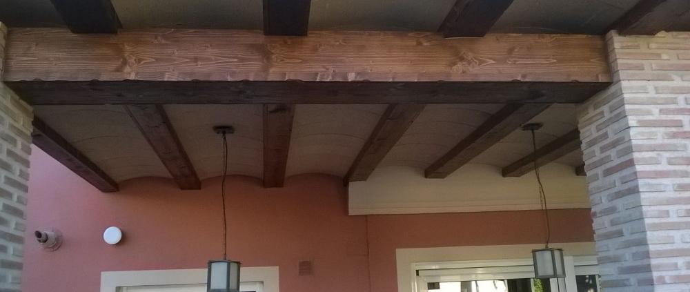 forrar vigas de hormigón con madera