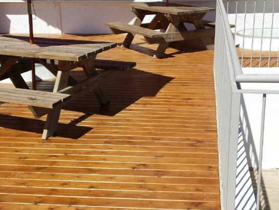 terraza de madera ejemplos