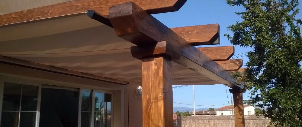 ejemplos pergolas de madera