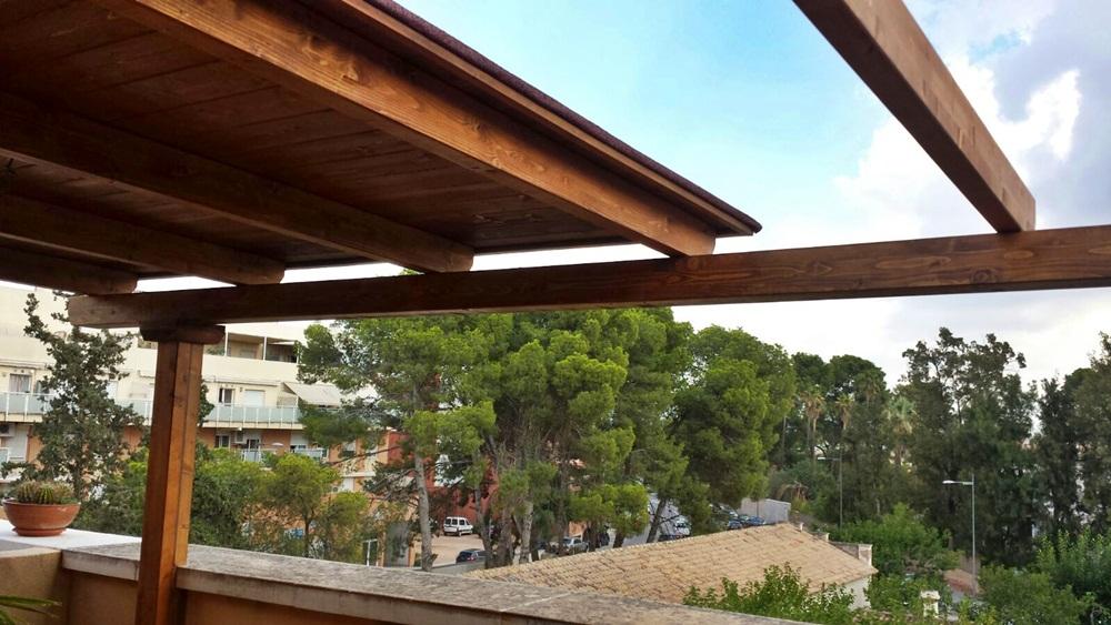 Pergolas y porches de madera
