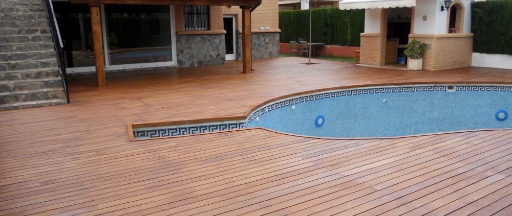 terraza madera tropical Ipe