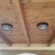 tablas de madera en pared